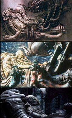 Alien Franchise  - The Space Jockey