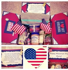memorial day care package ideas
