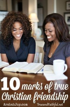 True spiritual friendship is rare... but priceless. Here are ten ways to cultivate deep, meaningful friendships. - Arabah Joy