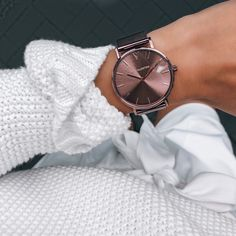 Paul Valentine's timeless yet distinctive watch collection is here: The Coffee Collection. Trendy Watches, Cute Watches, Wrist Watches, Rose Gold Watches, Beautiful Watches, Fashion Watches, Women's Accessories, Valentine Coffee, Bling