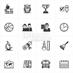 stock-illustration-21322323-school-and-education-icons-set-3.jpg (380×380)