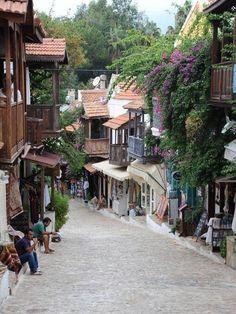 Kas at Antalya in Turkey Turkey Vacation, Turkey Travel, Places To Travel, Places To See, Travel Around The World, Around The Worlds, Turkey Holidays, Istanbul Turkey, Holiday Destinations
