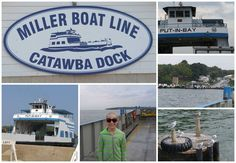 Visit the Lake Erie Island of Put-in-Bay aboard Miller Ferry #Ohio #lakeerielove #putinbay #familyfun #travel via One Momma Saving Money.