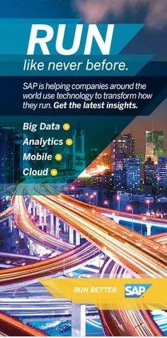 SAP banner ad #digitalmedia #bannerad