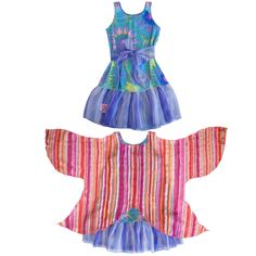 TwirlyGirl - WOW Wings of Wonder Dress Prismatic Starburst | Rainbow Fairy Dress Fun Pretty, $69.00 (http://www.twirlygirlshop.com/rainbow-fairy-dress/)