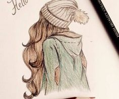 Wolfsmädchen: September 2014 You are in the right place about lyrical Dancing Drawings Here we offer Hipster Drawings, Tumblr Drawings, Pencil Art Drawings, Art Drawings Sketches, Hipster Kunst, Amazing Drawings, Beautiful Drawings, Easy Drawings, Amazing Art