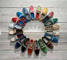 colours shoes circle #fashion #summer #2013