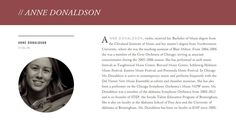 ANNE DONALDSON
