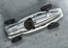Auto Union Type D Silver Arrow