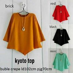 Busana Wanita Kyoto Blouse Online dan Murah - http://www.butikjingga.com/busana-wanita-kyoto-blouse