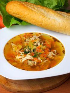 """Szefowa w swojej kuchni. ;-): Oszukane """"flaki"""" z kurczaka / Flaczki drobiowe Polish Recipes, Thai Red Curry, Poultry, Soup Recipes, Food And Drink, Chicken, Cooking, Ethnic Recipes, Yum Yum"""