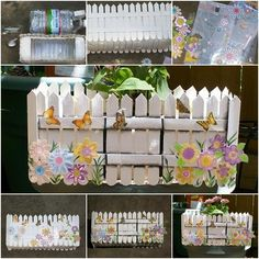 How to Make Popsicle Planter with Plastic Bottle
