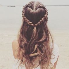 Hair care tips that will help you Hairstyles For Flower Girl, Hairstyles For Girls Easy, Easy School Hairstyles, Braids For Girls, Heart Hairstyles, Trendy Hairstyles, Cute Braided Hairstyles, Medium Hairstyle, Beautiful Hairstyles