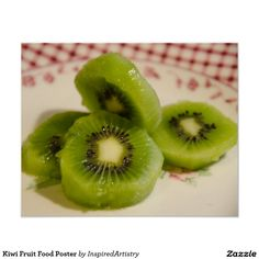 Poster da comida da fruta de quivi