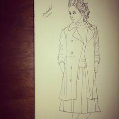 Fashion Sketch #008