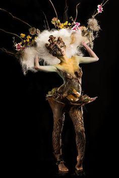 Week 5: Lymari Millot — with Ais Bathory.  #cms #cinema #makeup #school #Special #FX #SPFX #movie #FaceOff #TeamCMS