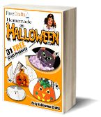 A free E-book to download full of halloween crafts for you kids to make