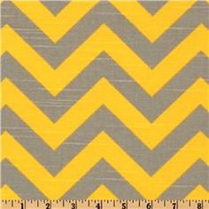 Thinking of painting a design on the yellow curtains we have for our bedroom in a gray tone. Not sure about chevron, maybe just vertical stripes.