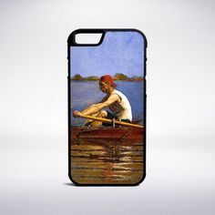 Thomas Eakins - John Biglin In A Single Scull Phone Case – Muse Phone Cases