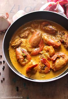 Prawn & Black Pepper Curry