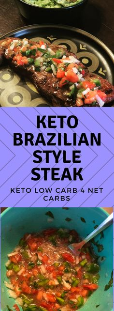 You'll love this flavor packed low carb recipe!  Brazilians love their beef and once you taste this you'll know why.  #lowcarb #lowcarbrecipes #keto #ketorecipes