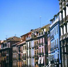 Edificios de la Calle Reyes Católicos @GranadaenFotos @masquegrana @SpainGranada @planesgranada