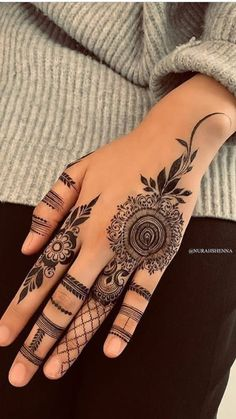 l love mehndi - Henna Tattoo Designs Simple, Arabic Henna Designs, Mehndi Designs 2018, Mehndi Designs For Girls, Mehndi Designs For Beginners, Modern Mehndi Designs, Mehndi Designs For Fingers, Mehndi Design Images, Hand Designs