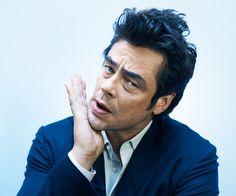 Benicio Del Toro for Les Inrocks - Celebrities - Benni Valsson - Photographer - Carole Lambert