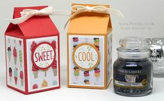 Stampin' Up! Demonstrator Pootles – Cool Treats Yankee Candle Jar Box Happy Friday everyone! Anyone else desperate for a bit of heat and warmth in their lives? My Australasian friends, …