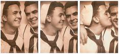 Somewhere in America, mid 1940's- so sweet. love knows no boundaries. :)