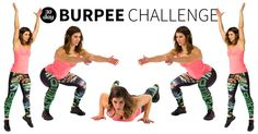 Burpees: We love to hate 'em, but if you stick to this 30-day challenge, you'll feel stronger, tighter, and more toned by the end of the month