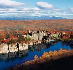 Mohonk Moutain House is absolutely one of the most beautiful places I have ever been!