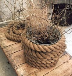 10 Coiled Rope Art Display Ideas