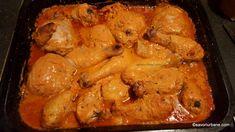 pulpe de pui la tava inainte de rumenire Cordon Bleu, Chicken Wings, Meat, Dinner, Cooking, Food, Mariana, Sweet 16 Makeup, Sweet Makeup