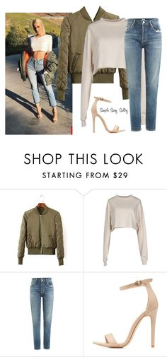 """""""Kylie Jenner Inspired✨"""" by simplesassysultry ❤ liked on Polyvore featuring Organic by John Patrick, Citizens of Humanity and Charlotte Russe"""
