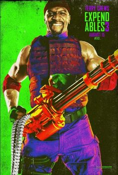 Os Mercenarios 3 Comic Con 2014 poster 9