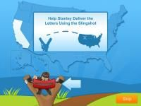 US Geography With Flat Stanley HD App Review