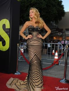 Blake Lively at the Savages Premiere