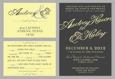Custom mad lib  wedding invitation grey and yellow wedding invite, personalized wedding invitations//script wedding invitatiion mad lib rsvp on Etsy, $1.60