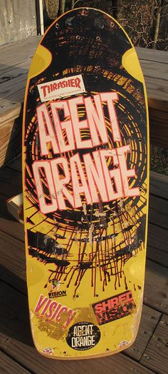 [Vision Agent Orange deck. ] These guys put on a great show!