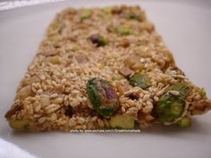 Honey, Sesame and Nuts Snack Candy Bars - PASTELI - Recipe - YouTube