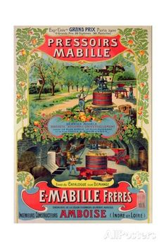 oster Advertising 'Pressoirs Mabille', at the Exposition Universelle, Paris, 1900 Giclee Print