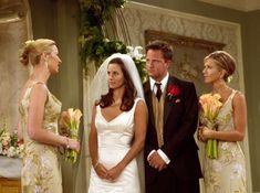 I really like Phoebe and Rachel's bridesmaid dresses.