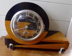 Art-Deco-westminister-chime-clock