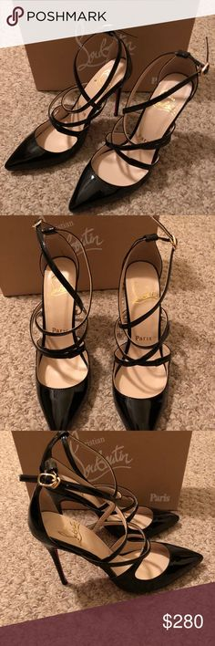 Christian louboutin heels New in box with dust bag.size is not fit me😞 Christian Louboutin Shoes Heels