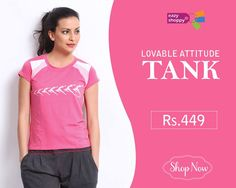 #Lovable Attitude Tank only at Rs.449  Buy Now:http://bit.ly/1O7y73j