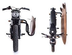 Bike + board + holder