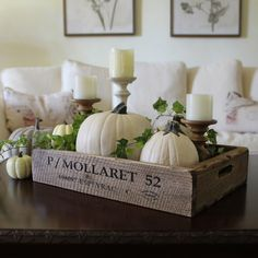 Could use wooden Robin tray like this. Decor, Rustic Decor, Rustic Tray, Tray Decor, Table Decorations, Fall Decor, Holiday Decor, Table Top Decor, Cottage Decor