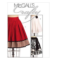 Misses' Skirts mccalls 5631 Mccalls Patterns, Dress Patterns, Sewing Patterns, Handmade Skirts, Pants Pattern, Cute Skirts, Couture, Refashion, Skirt Fashion