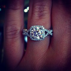Verragio INS-7070CU-GOLD 0.45ctw Diamond Engagement Ring